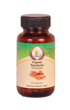 Load image into Gallery viewer, Turmeric (Organic) 90 Capsules - 500mg
