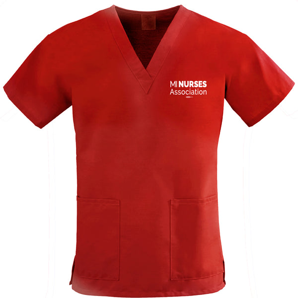 Two-Pocket Scrub Top