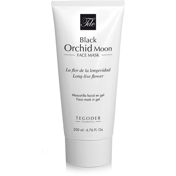 Black Orchid Moon Face Mask