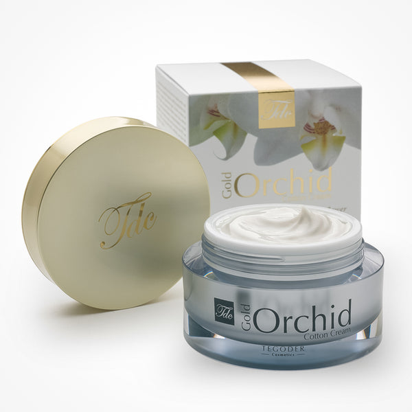 Gold Orchid Cotton Face Cream