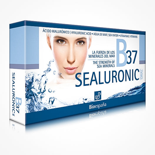 B37 Sealuronic Oral Sea Mineral And Hyaluronic Acid Food Supplement