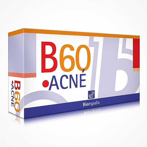B60 Acne Bioespaí±a Food Supplement For Mixed And Oily Skin