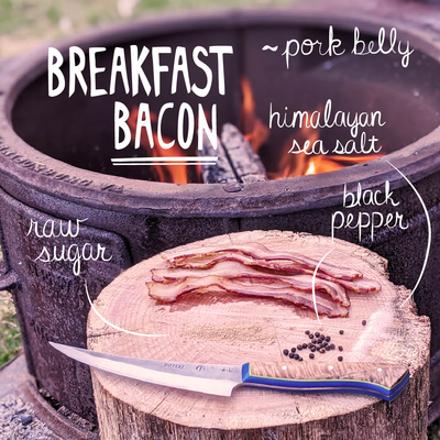 Breakfast Bacon - No Nitrate, 3/4 lb