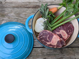 Beef Shanks (osso buco) - 100% Grass fed 1.5lb