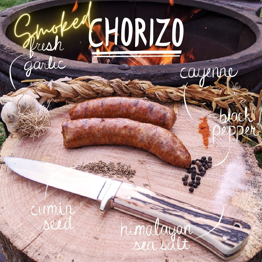 **Single Batch** Smoked Chorizo Mexicano Sausage