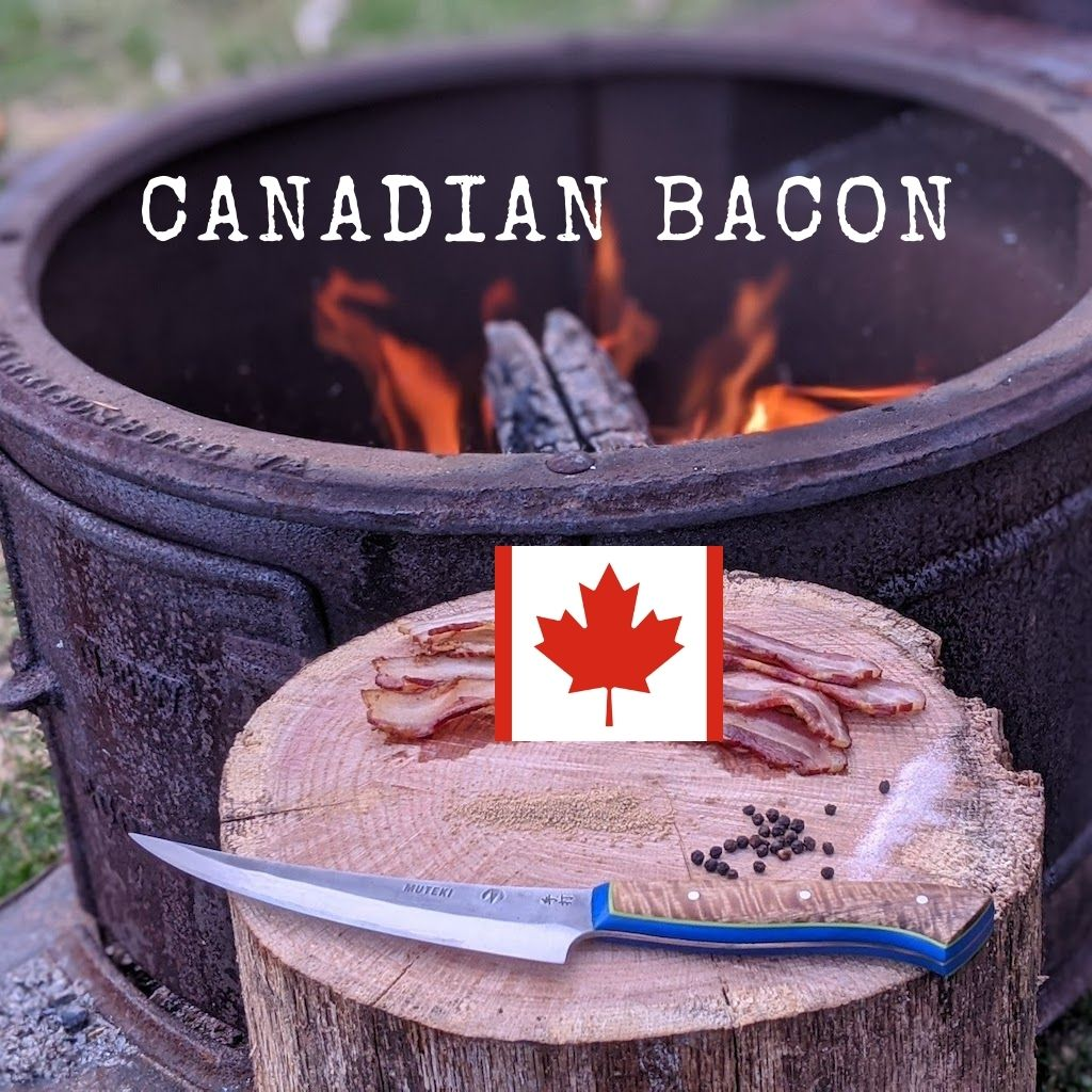 Canadian Bacon - No Nitrate, 3/4 lb