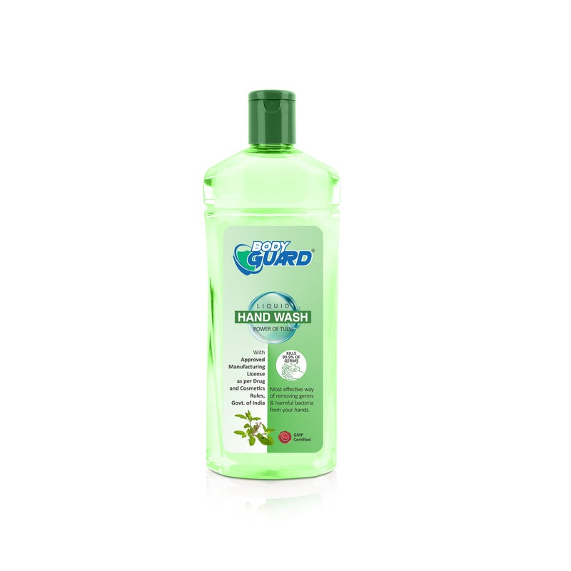 BODY GUARD Hand Wash Transparent with FTP CAP 100Ml