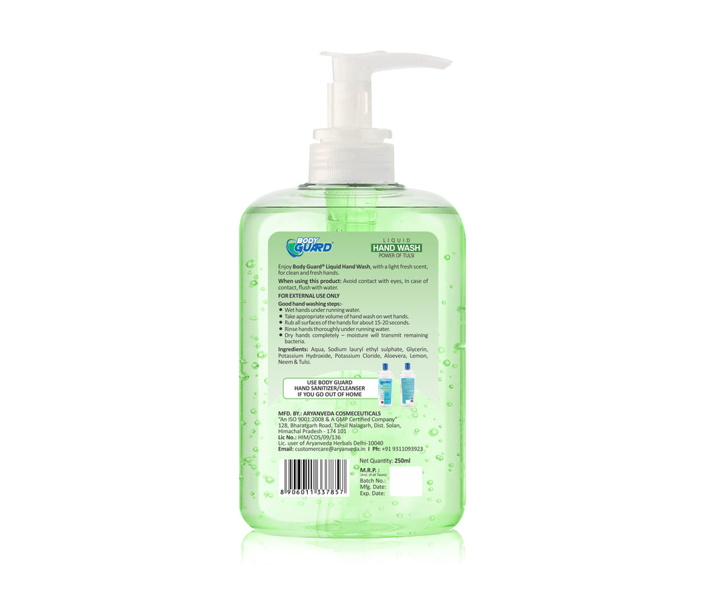 Hand Wash  250ml  | Kills 99.99% Germs