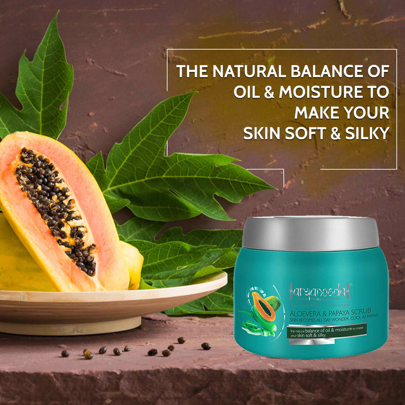 Aloevera & Papaya Scrub 400gm