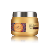 Arganic Hair Mask - 200ml with Pure Argan Oil & No Parabens, Sulphate & Silicones, Revitalizes Thin, Dry, Brittle & Split Ended Hair