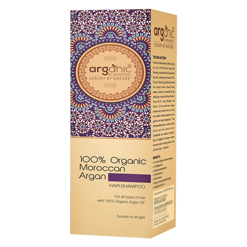 Arganic Moroccon Hair Combo Pack