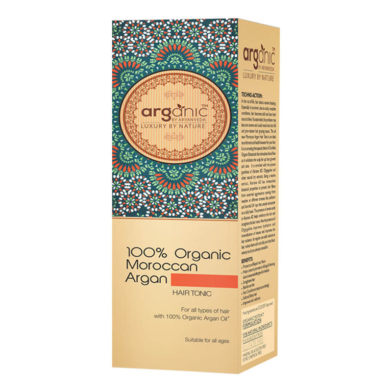 Organic Moroccan Argan Hair Tonic