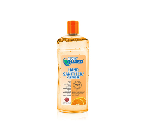 BODY GUARD Orange Hand Sanitizer Gel  200ml