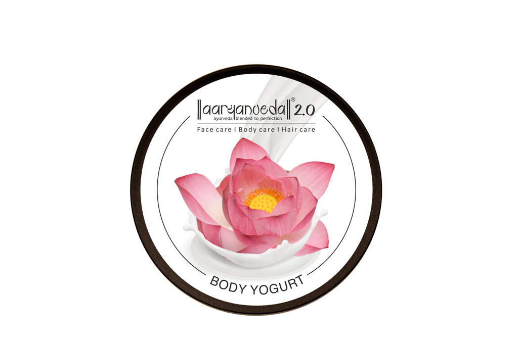 Body Yogurt Indian Lotus - 200ml , Normal to Oily Skin, Paraben & Mineral Oil Free, new, lightweight formula absorbs instantly and provides up to 48 hours of moisture