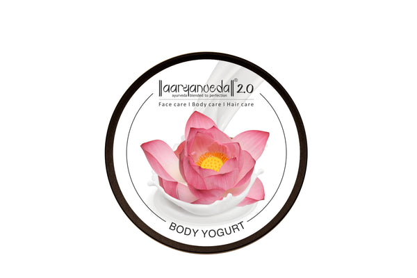 Indian lotus Body Yogurt