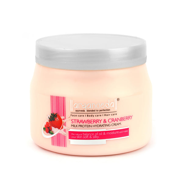 Strawberry & Cranberry Milk Protein Cream 400gm (Pack of 3)