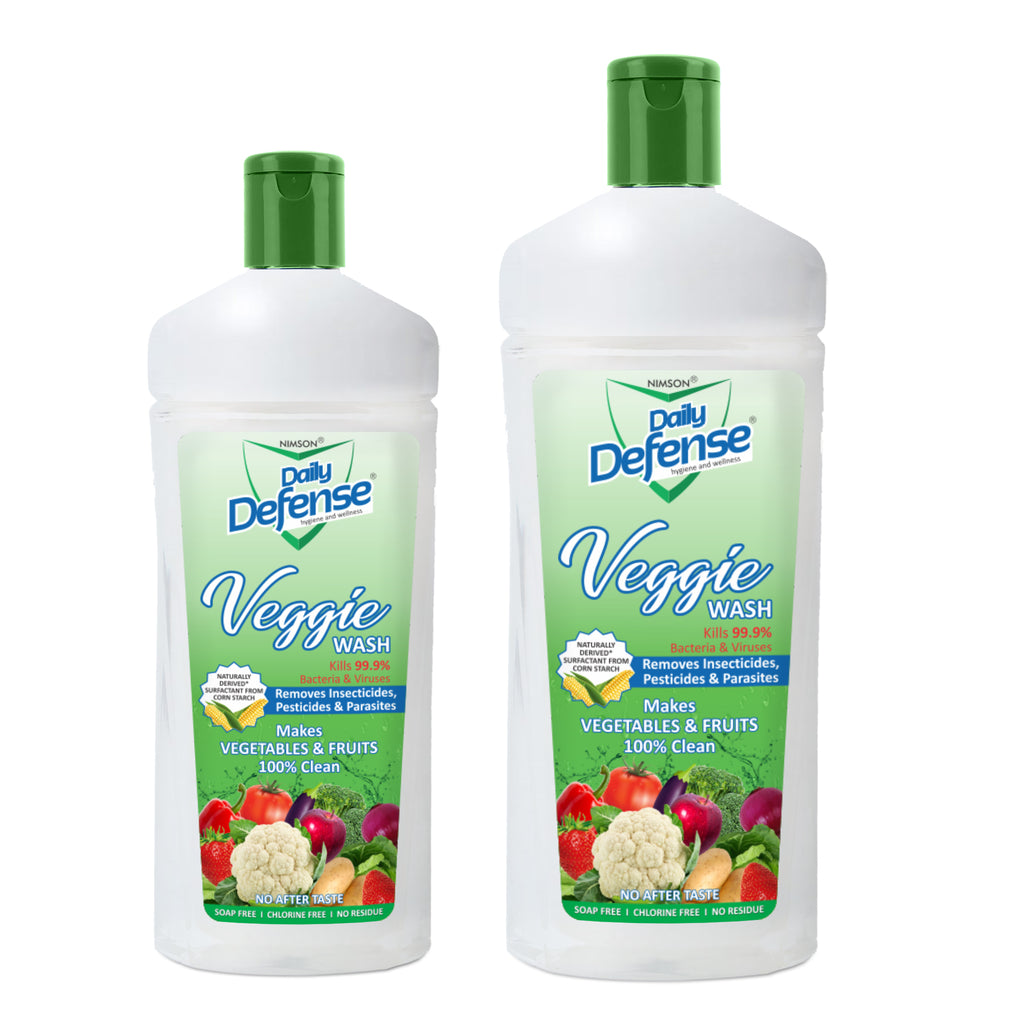 Veggie Wash 500ml - Scientifically Proven To Remove Germs, Pesticides & Waxes