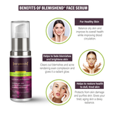 Blemishend serum - 50ml Ayurvedic & Natural- No Parabens, Sulphate, Silicones & Color - For Pigmentation & Blemish Removal