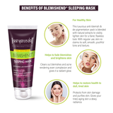 Blemishend Sleeping Mask -60ml   Ayurvedic & Natural- No Parabens, Sulphate, Silicones & Color -For Pigmentation & Blemish Removal