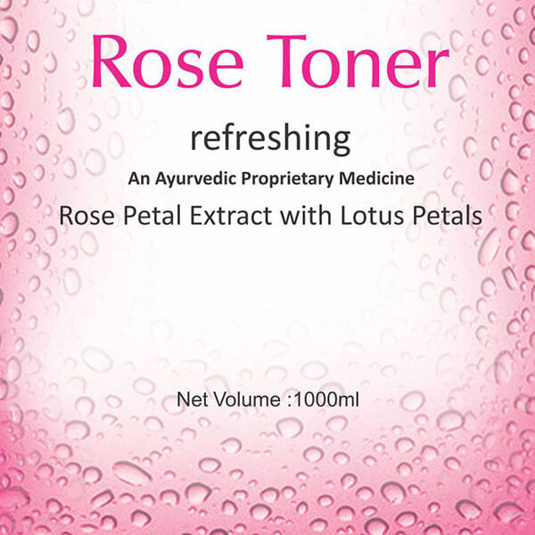 Rose Toner 1000ml
