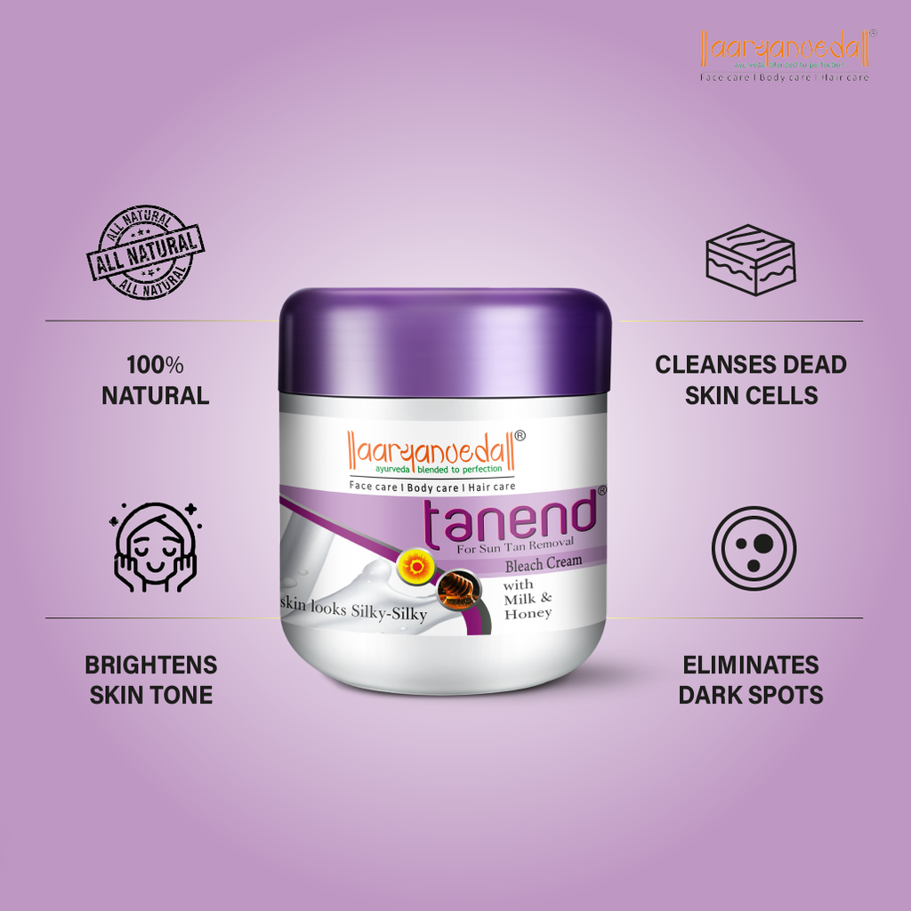 Tanend Bleach - 40gm Ayurvedic & Natural- No Harmful Chemicals with the natural extracts of Haldi and Chandan.