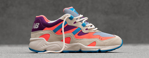 New Balance 850 Sneakers in Bone Tahitian Pink