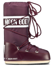 Load image into Gallery viewer, Moon Boot Nylon Classic Apres Ski in Burgundy