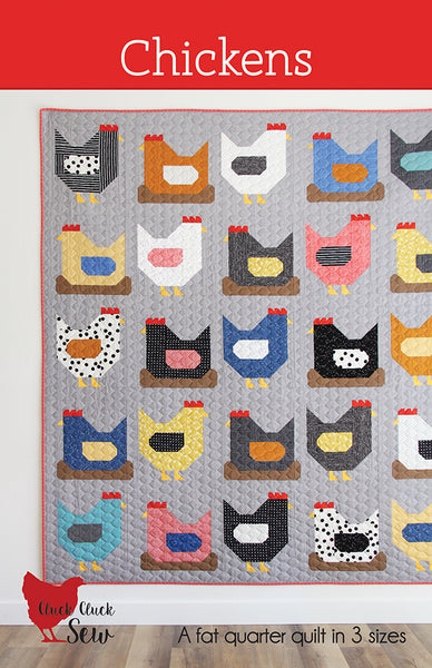 Chickens Pattern By Cluck Cluck Sew