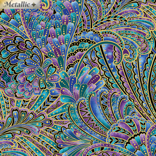 Peacock Flourish -  Opulence Multi