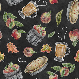 Rake and Bake - Tossed Fall Motifs