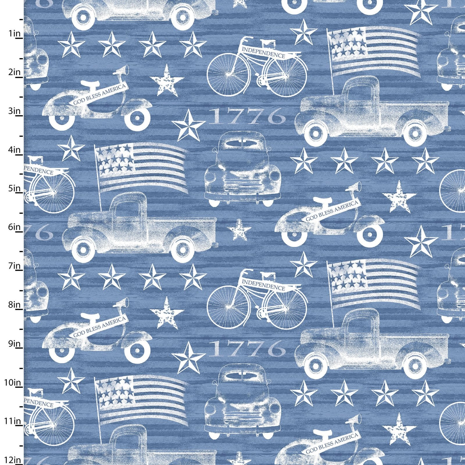 American Spirit - Blue Outline
