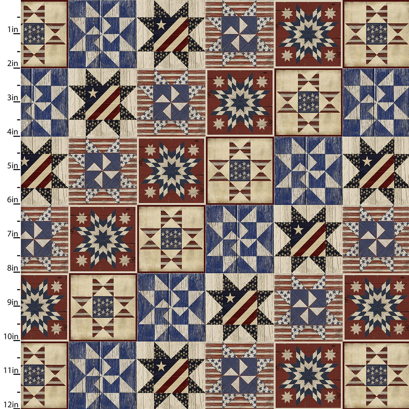 Patriotic Summer - Quilts