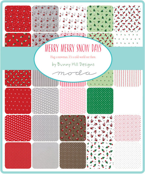 Merry Merry Snow Layer Cake by Bunny Hill Designs