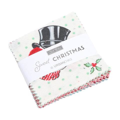Sweet Christmas Mini Charm Pack by Urban Chiks