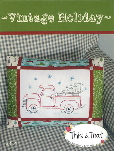 Vintage Holiday Pattern by Falls, Sheri