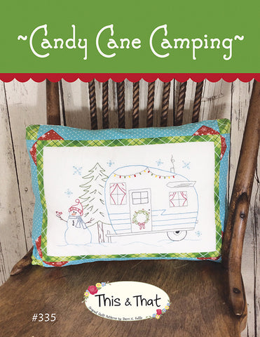 Candy Cane Camping by Falls, Sheri