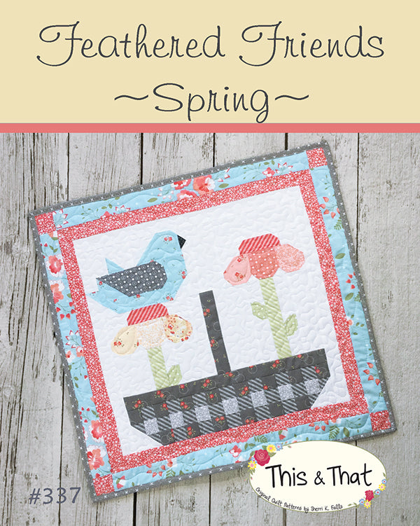 Feathered Friends Spring Pattern by Falls, Sheri