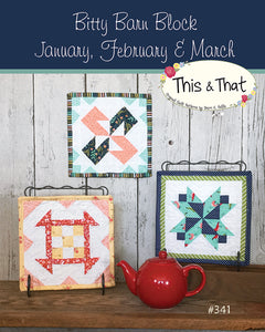 Bitty Barn Jan-March Pattern by Falls, Sheri