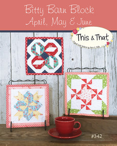 Bitty Barn April-June Pattern by Falls, Sheri
