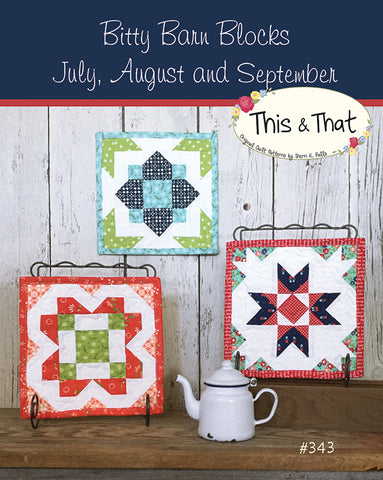 Bitty Barn July-August Pattern by Falls, Sheri