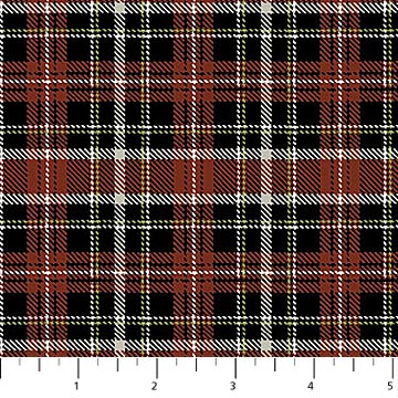 Country Paradise Collection-Plaid by Northcott