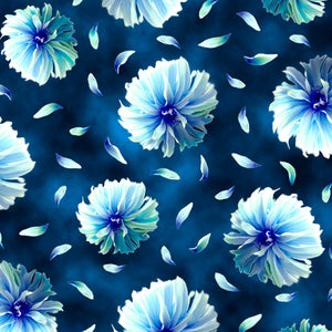 Kenzie Tossed Blooms by QT Fabrics