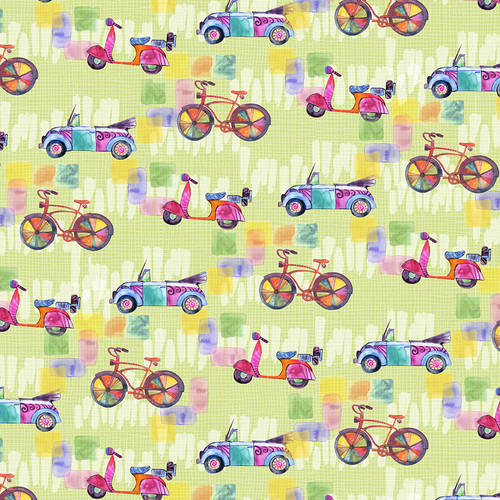 Color my World-Bikes and Cars