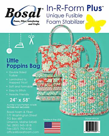 *** Bosal Double Sided Fusible Bag