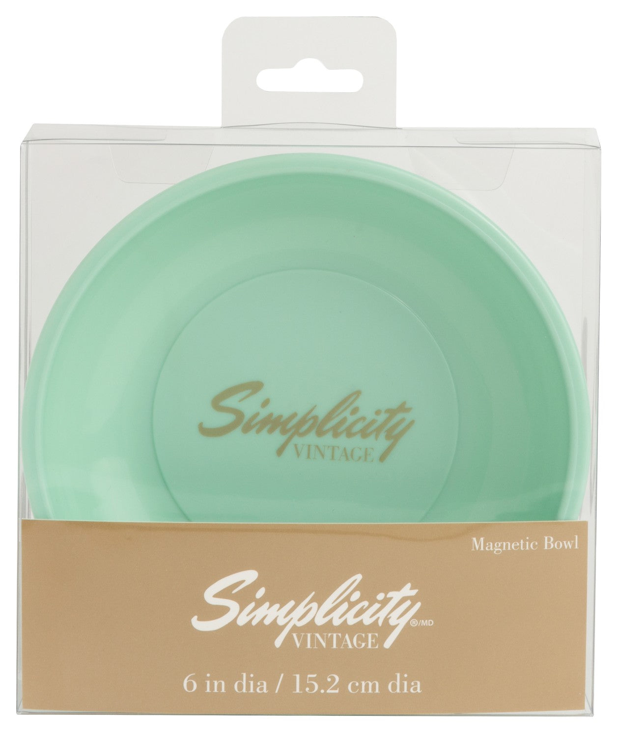Simplicity-Magnetic Bowl Light Green
