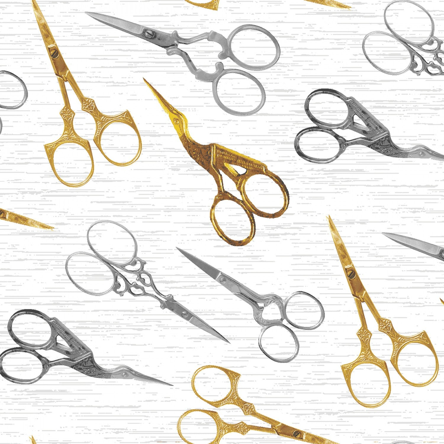Stitch in Time Collection-Scissors White