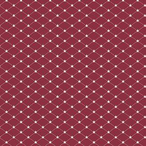 Allegiance - Tufted Star Cranberry