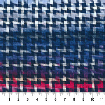 Quilt White to Red Checkers: Kilts & Quilts Collection