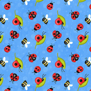 Gnome is Where Your Garden Grows - Ladybugs Blue