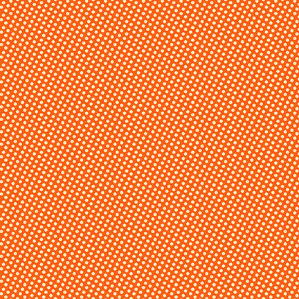Wild and Free - Mini Dots Orange